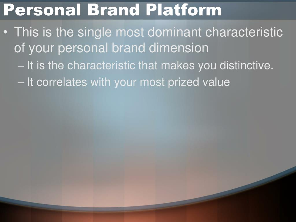 Personal Brand Platform