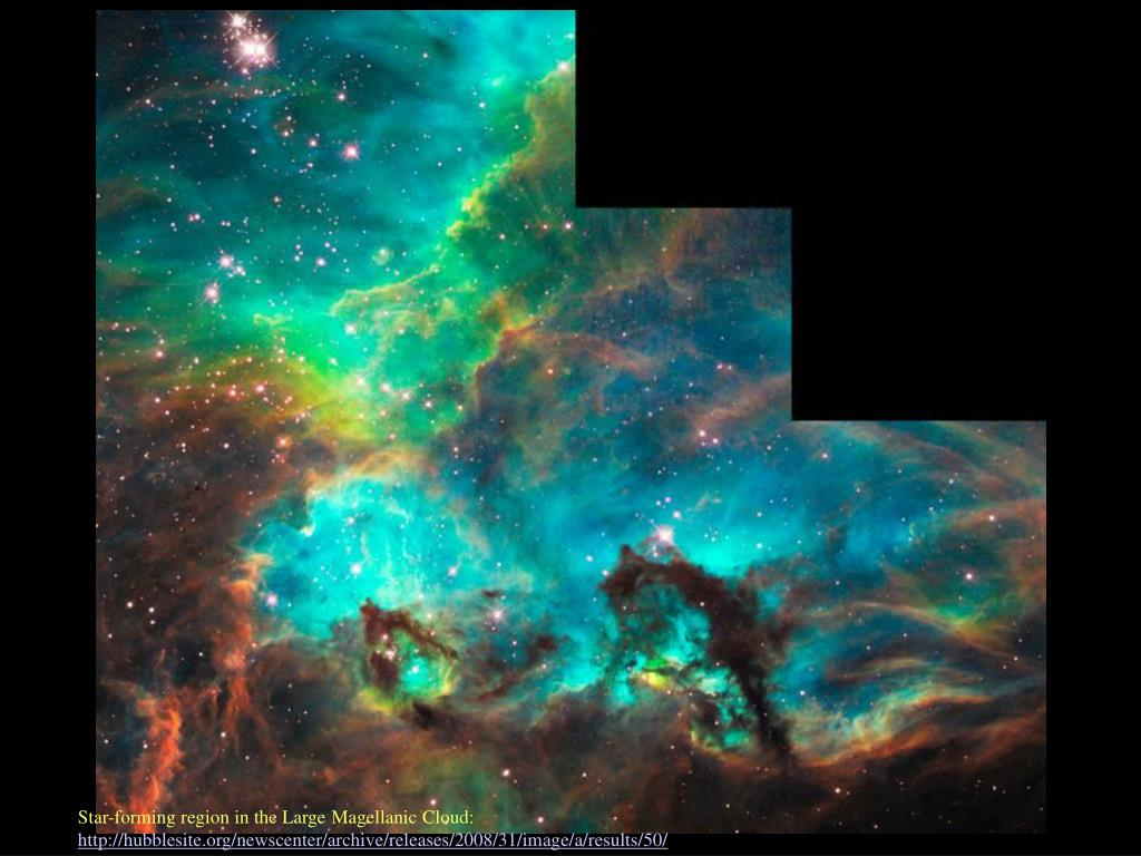 Star-forming region in the Large Magellanic Cloud: