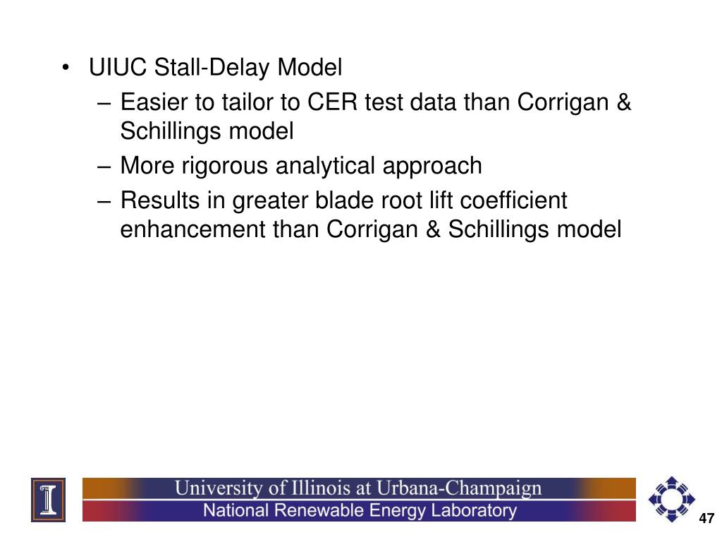 UIUC Stall-Delay Model