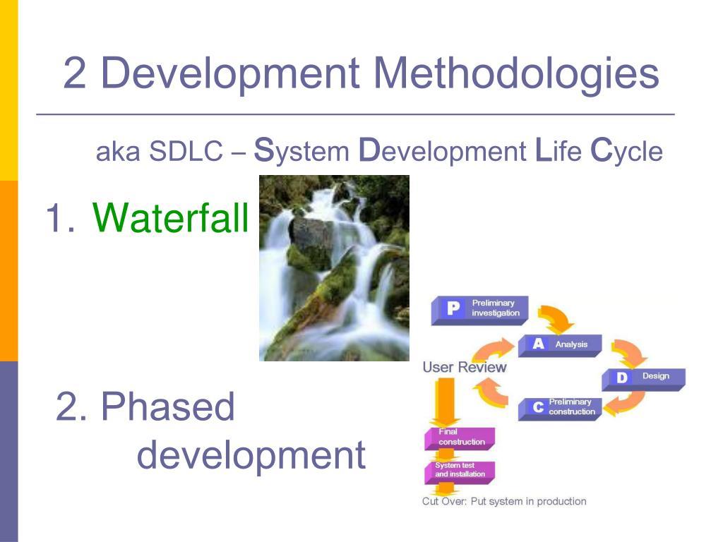 2 Development Methodologies