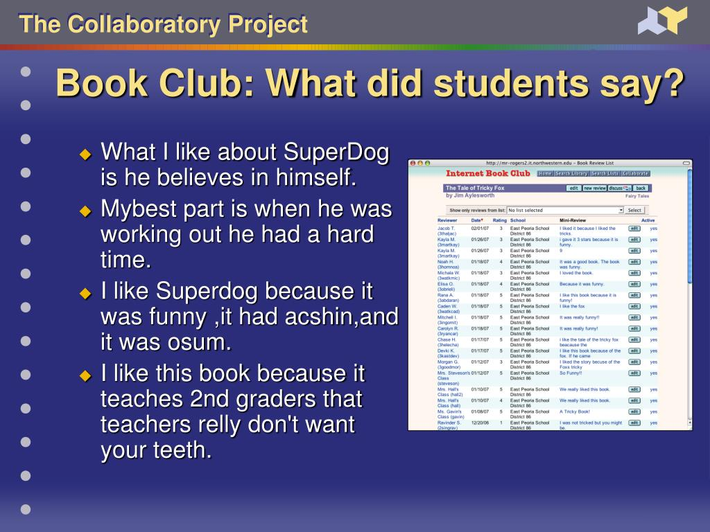 Book Club: What did students say?