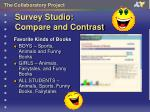 survey studio compare and contrast