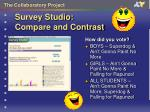 survey studio compare and contrast7