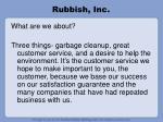 rubbish inc16