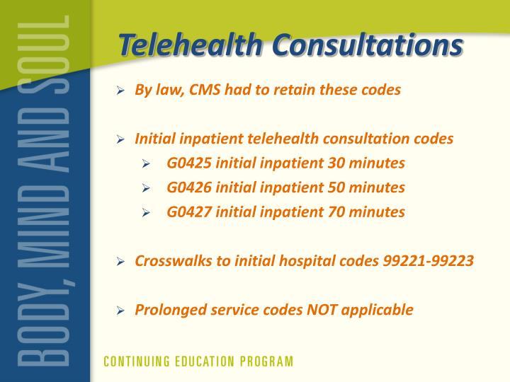 Telehealth Consultations