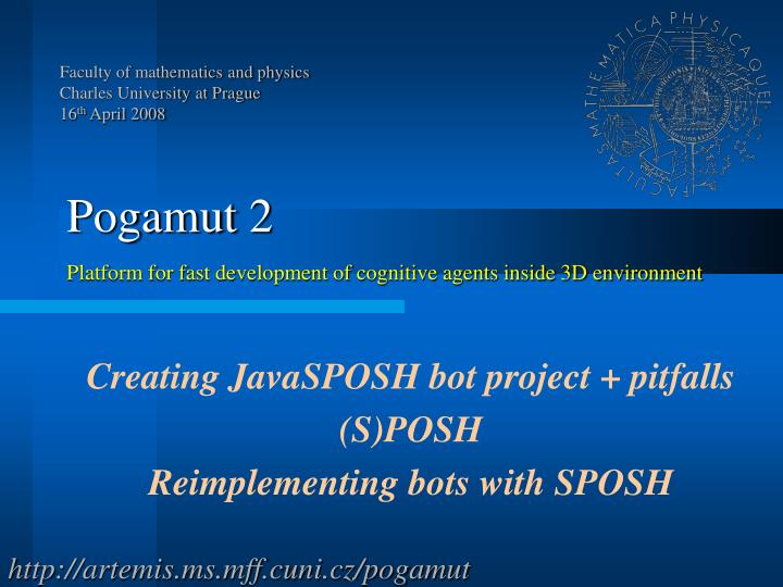 Creating javasposh bot project pitfalls s posh reimplementing bots with sposh