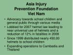 asia injury prevention foundation viet nam