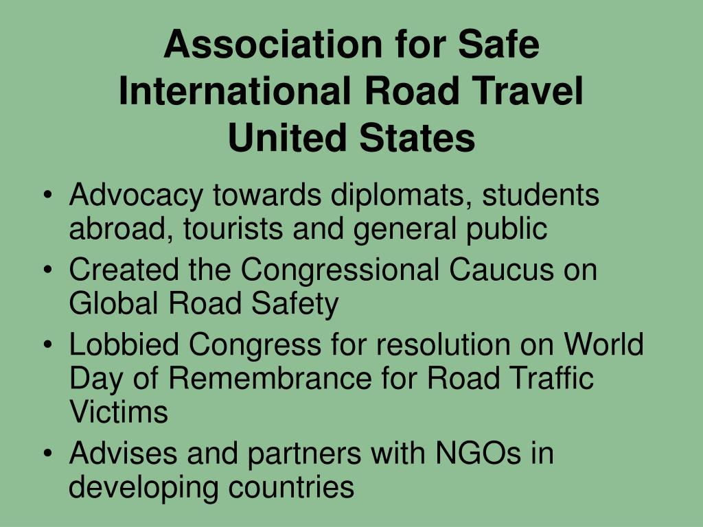 Association for Safe