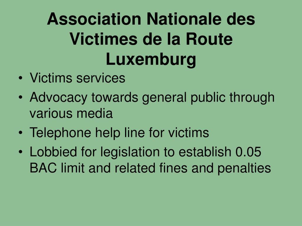 Association Nationale des