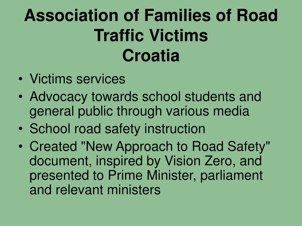 Association of Families of Road Traffic Victims