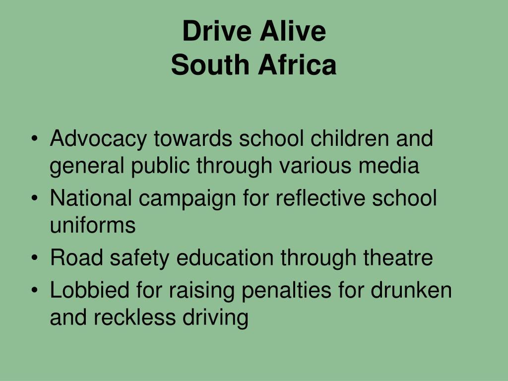 Drive Alive