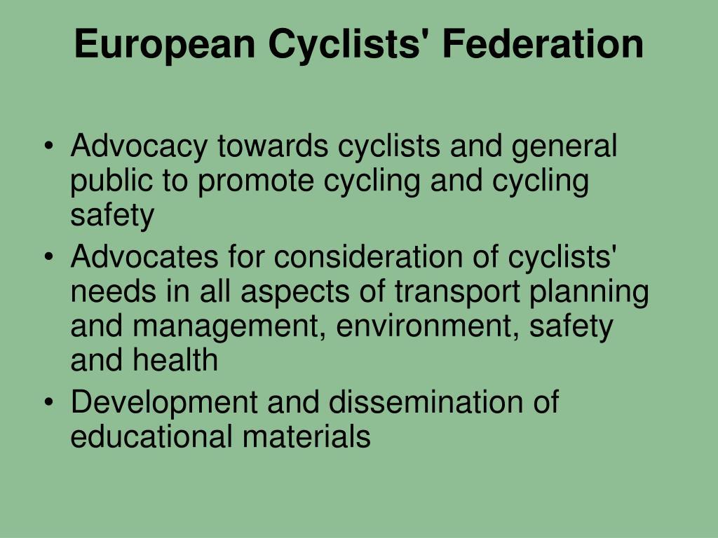 European Cyclists' Federation