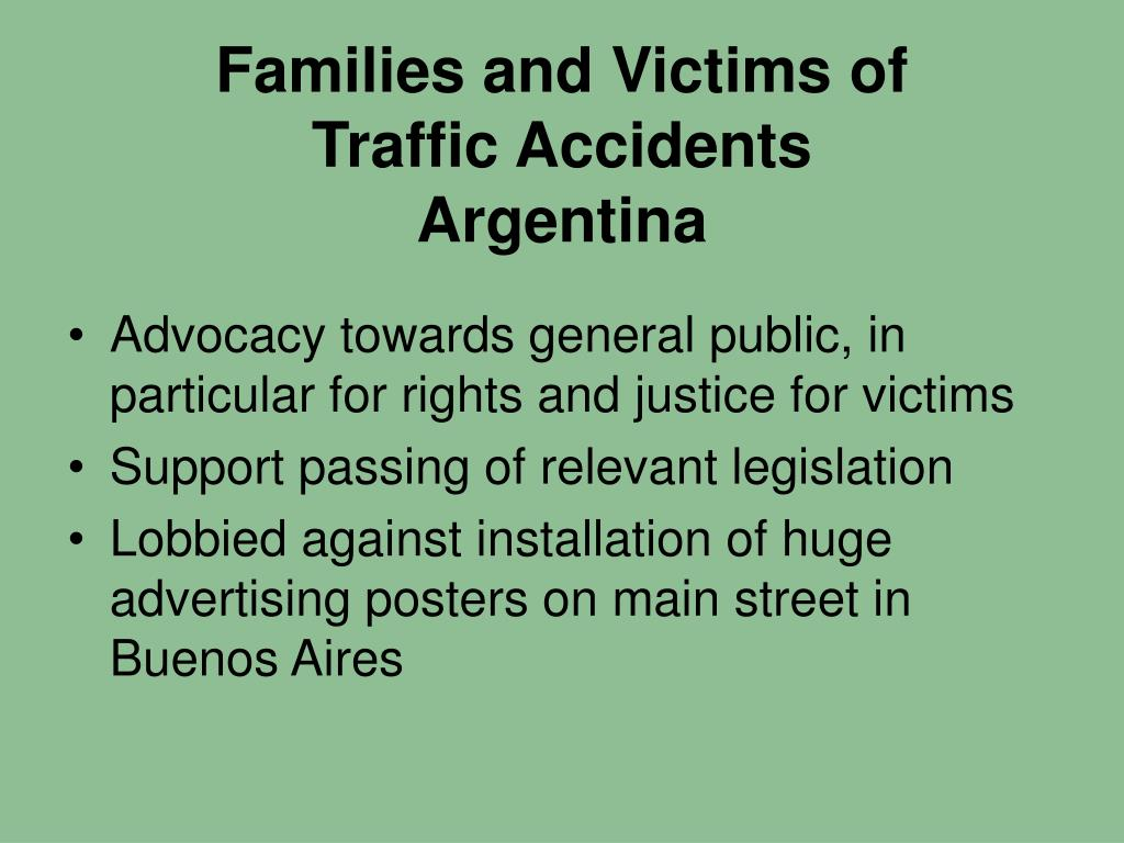 Families and Victims of