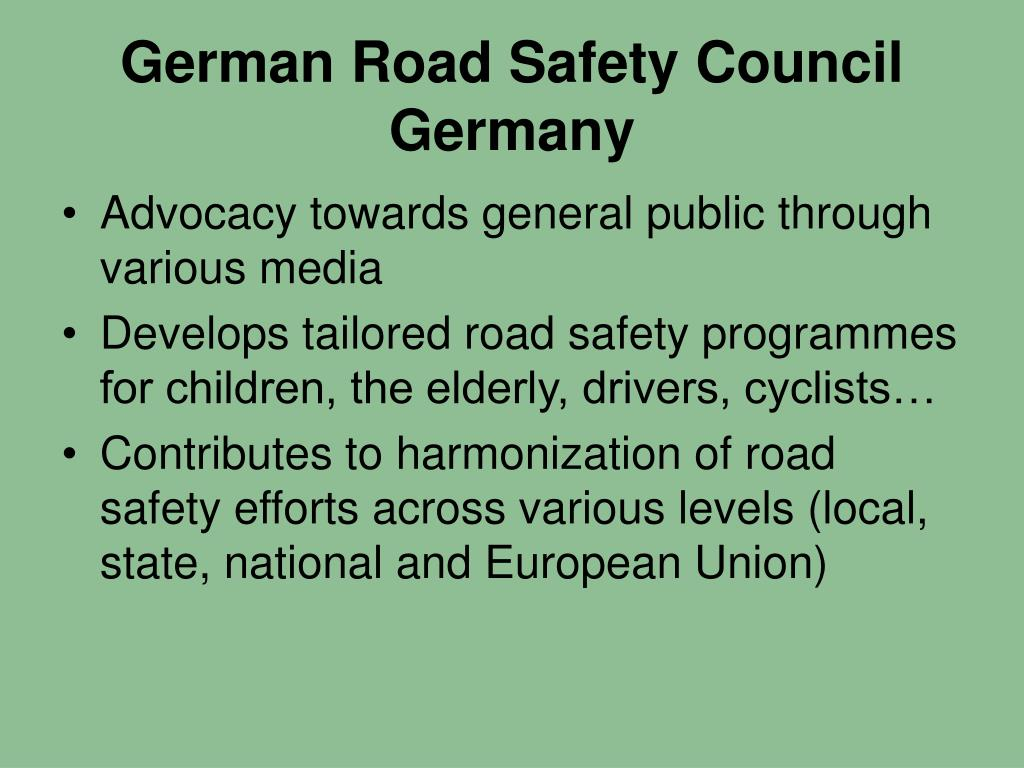 German Road Safety Council