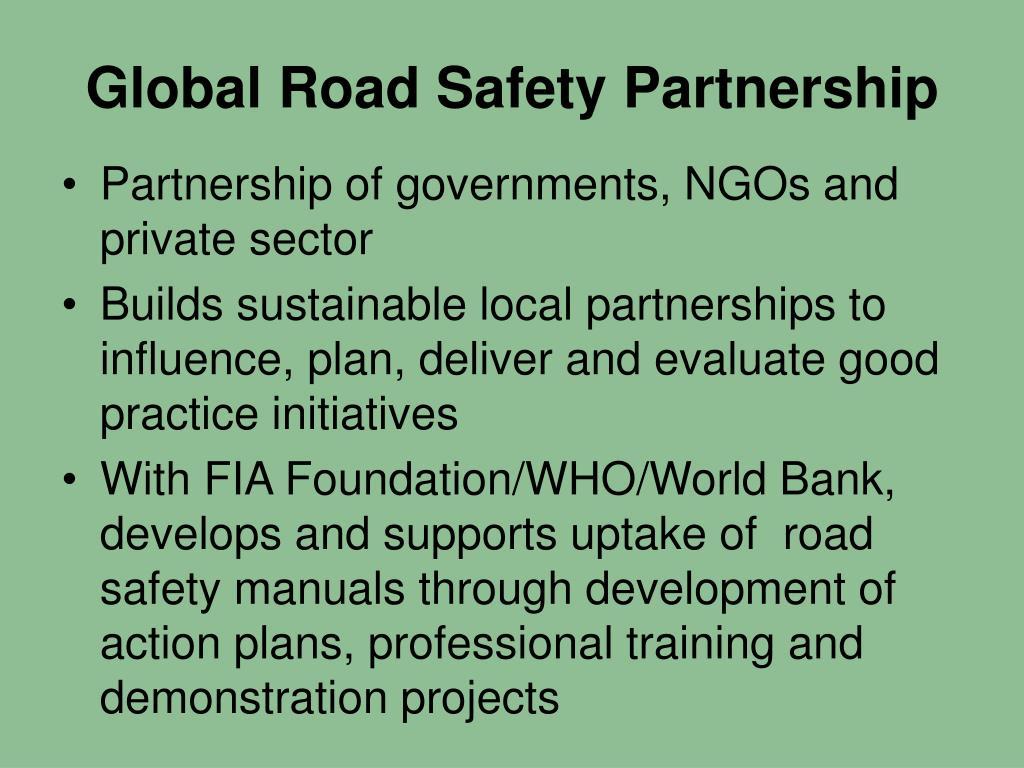 Global Road Safety Partnership