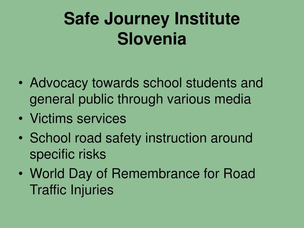 Safe Journey Institute