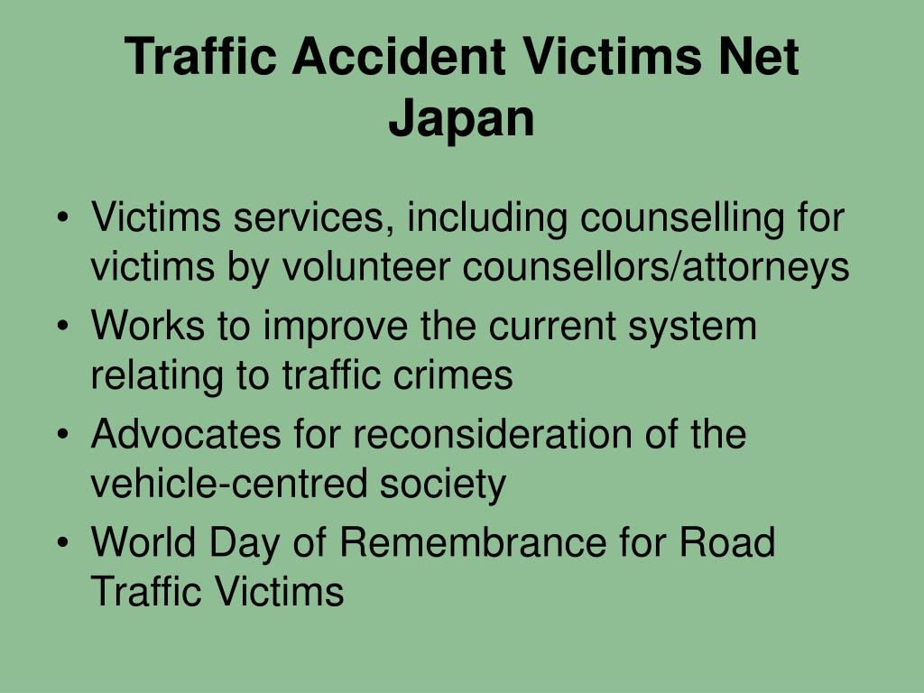 Traffic Accident Victims Net