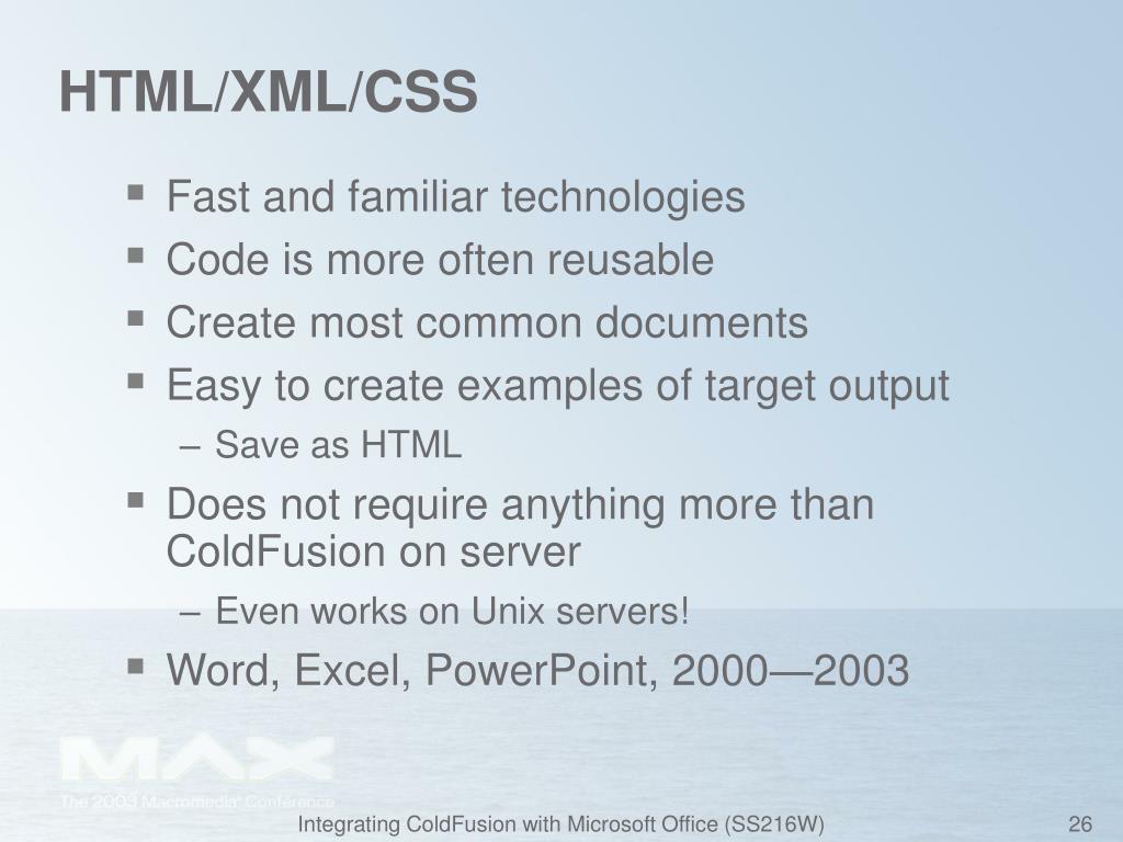 HTML/XML/CSS