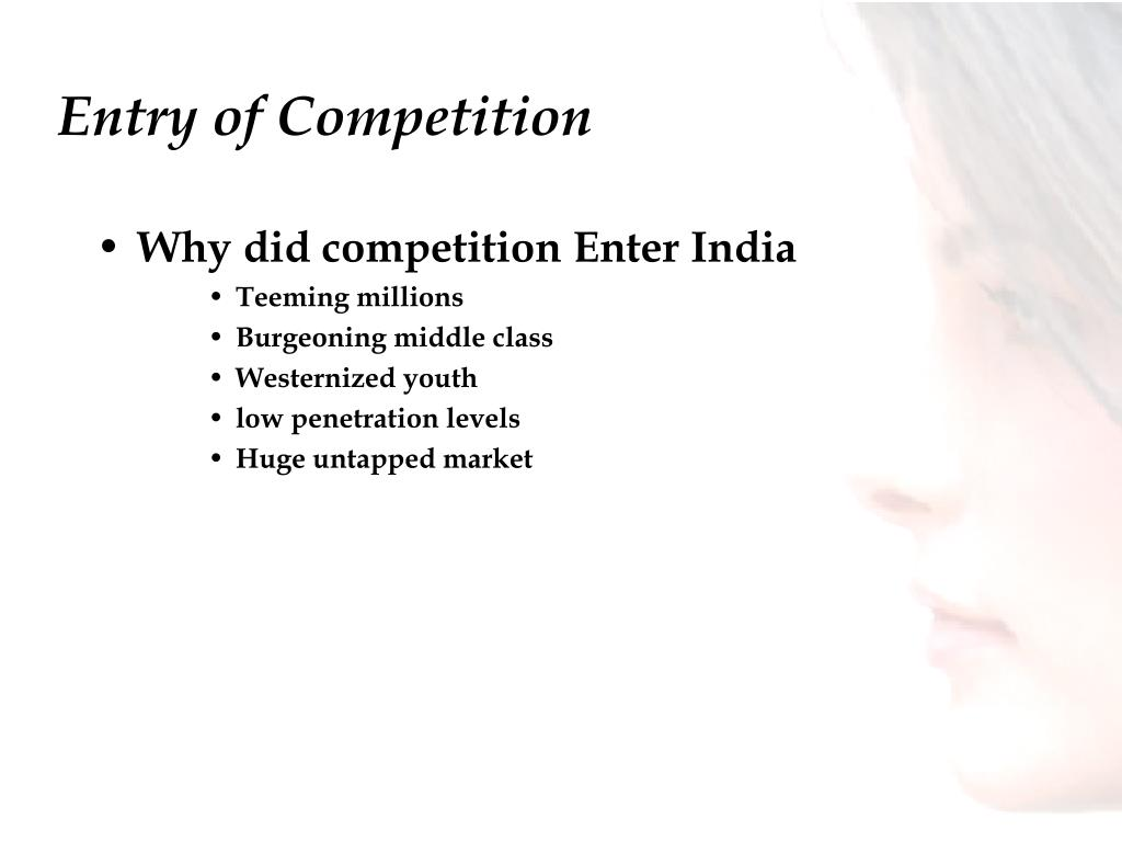 Entry of Competition