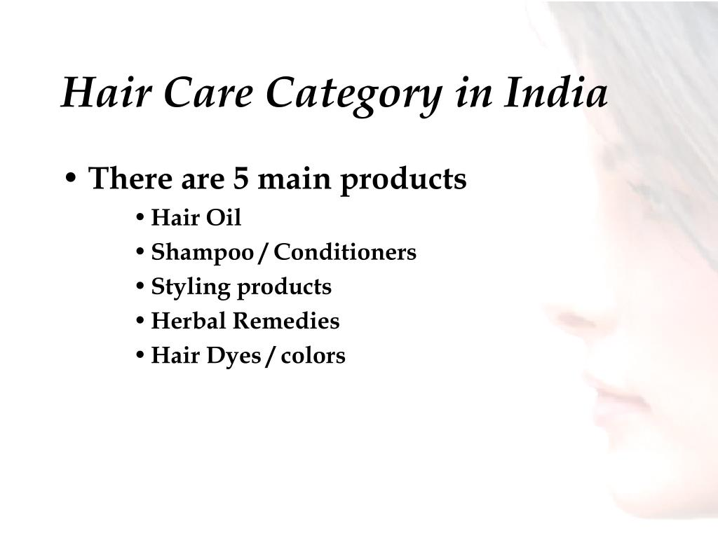 Hair Care Category in India
