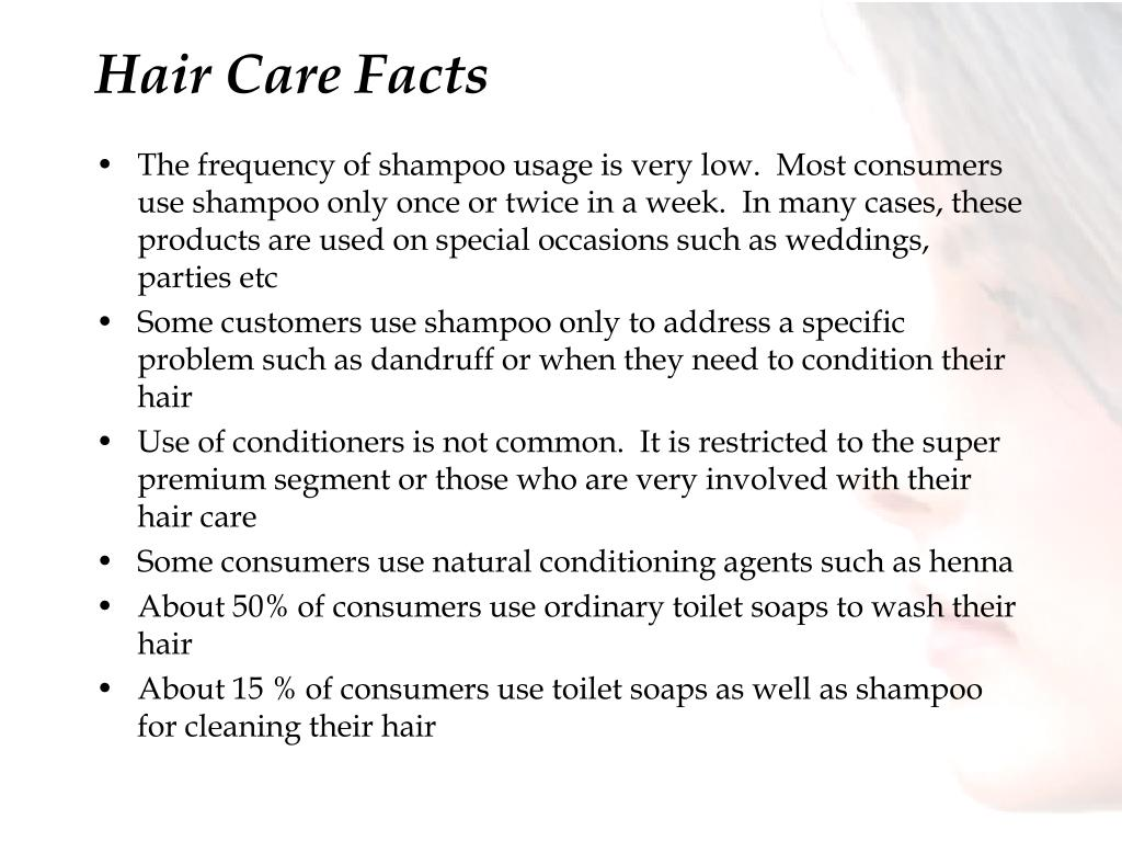 Hair Care Facts