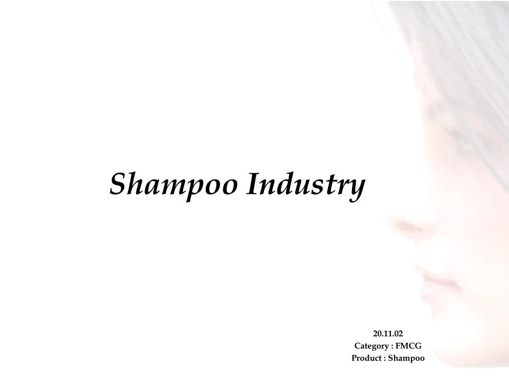 shampoo industry