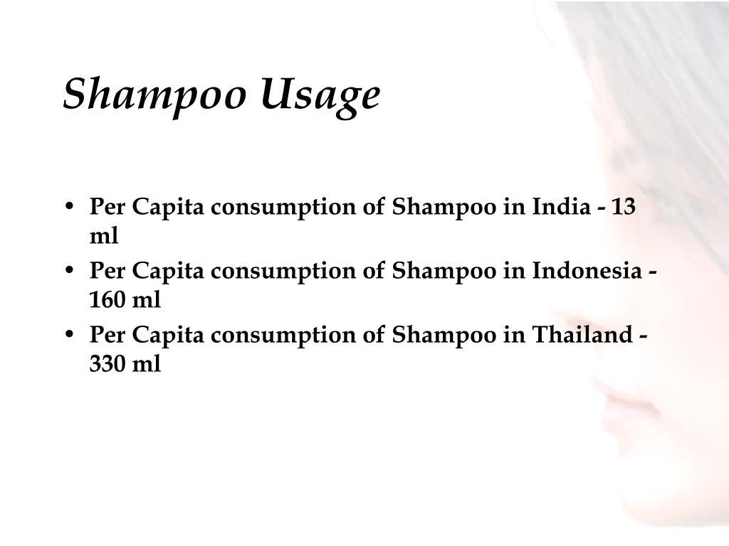 Shampoo Usage