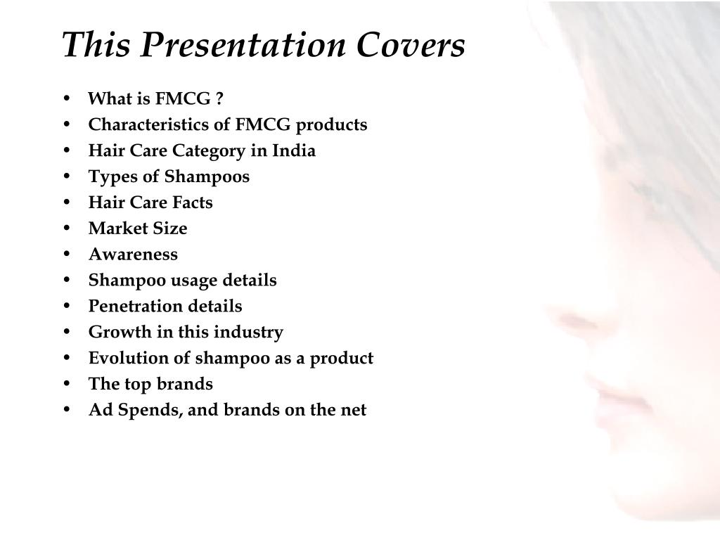 This Presentation Covers