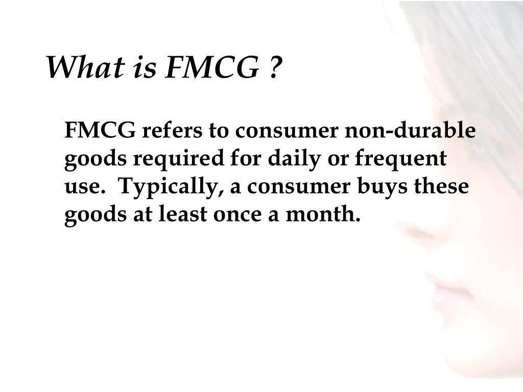 What is FMCG ?