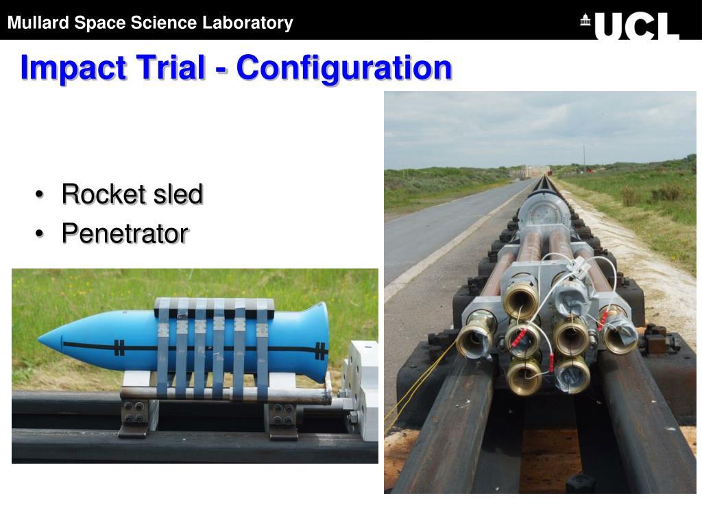 Impact Trial - Configuration