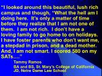 tammy ramos ba and bs st mary s college of california jd notre dame law school