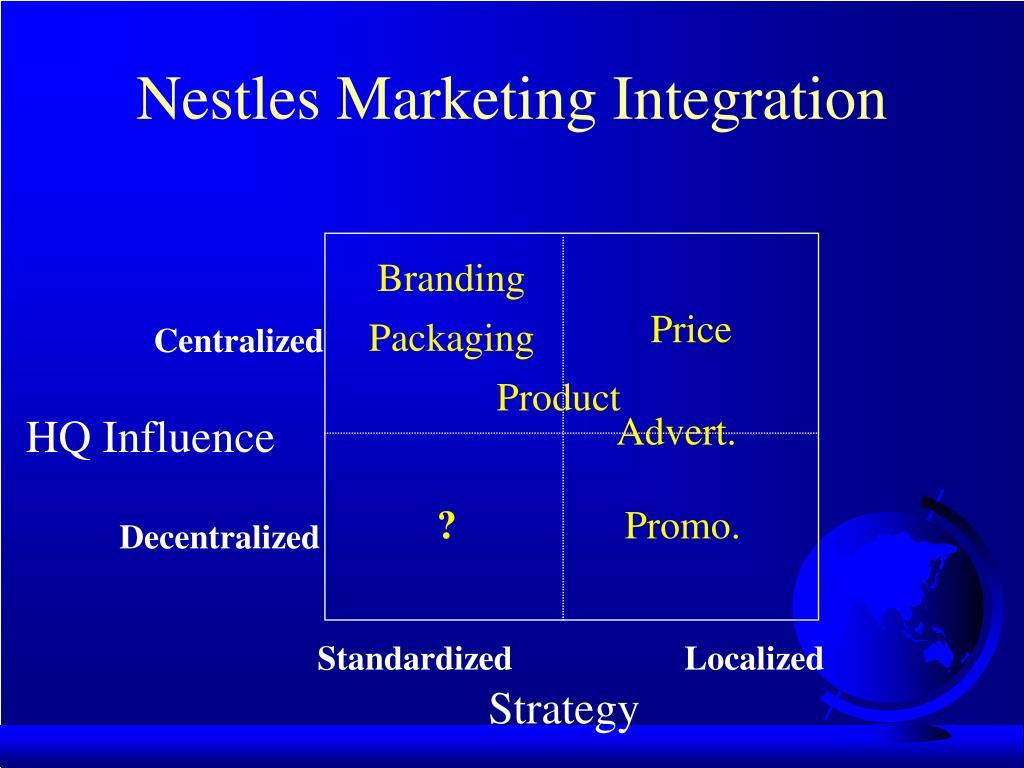 Nestles Marketing Integration