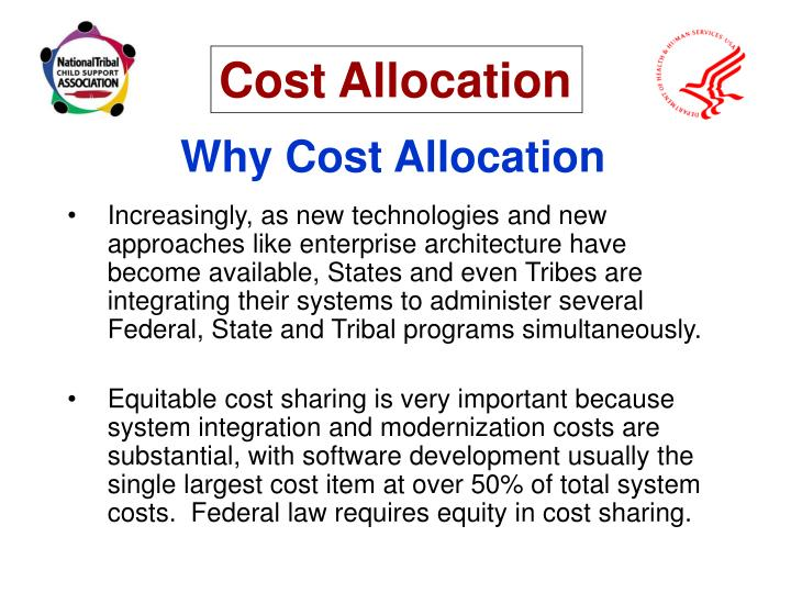 Why Cost Allocation