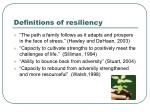 definitions of resiliency