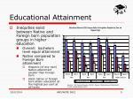 educational attainment9