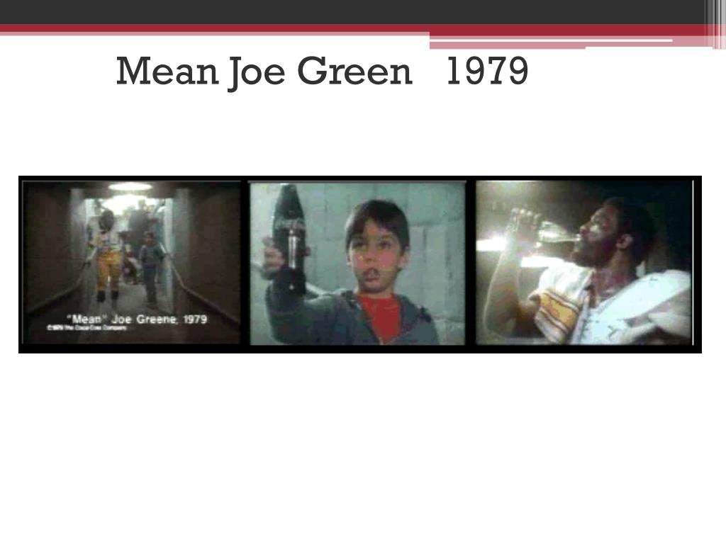 Mean Joe Green   1979