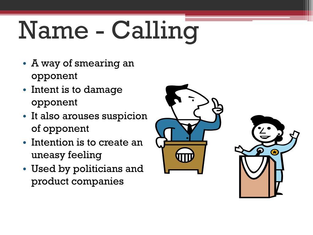 Name - Calling