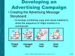 developing an advertising campaign31