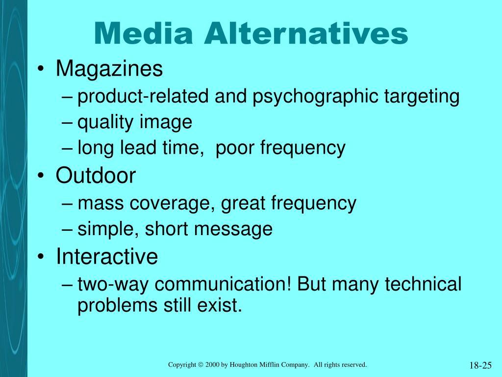Media Alternatives