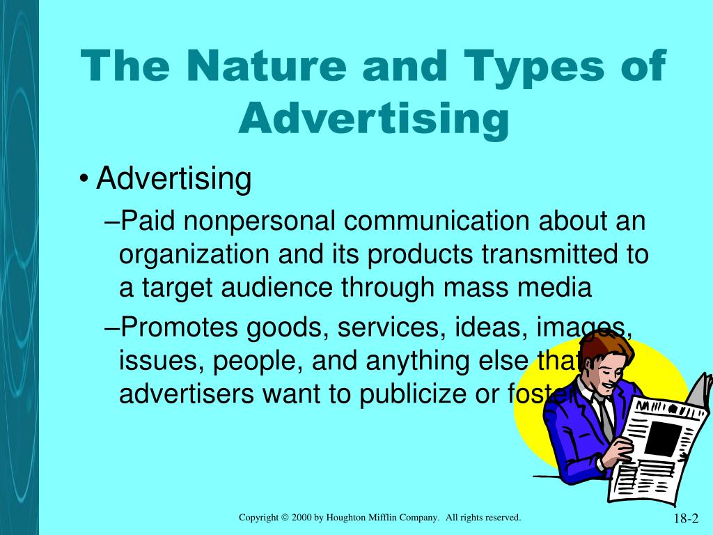 The Nature and Types of Advertising