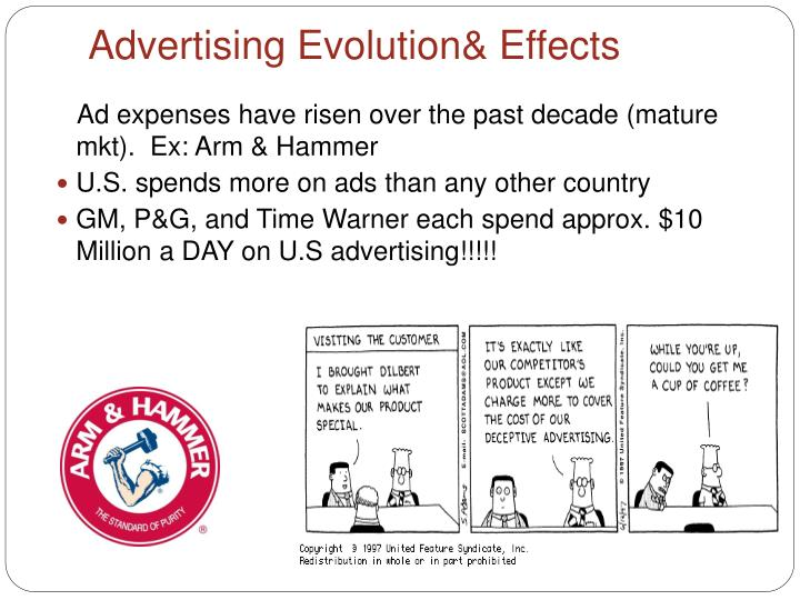 Advertising Evolution& Effects