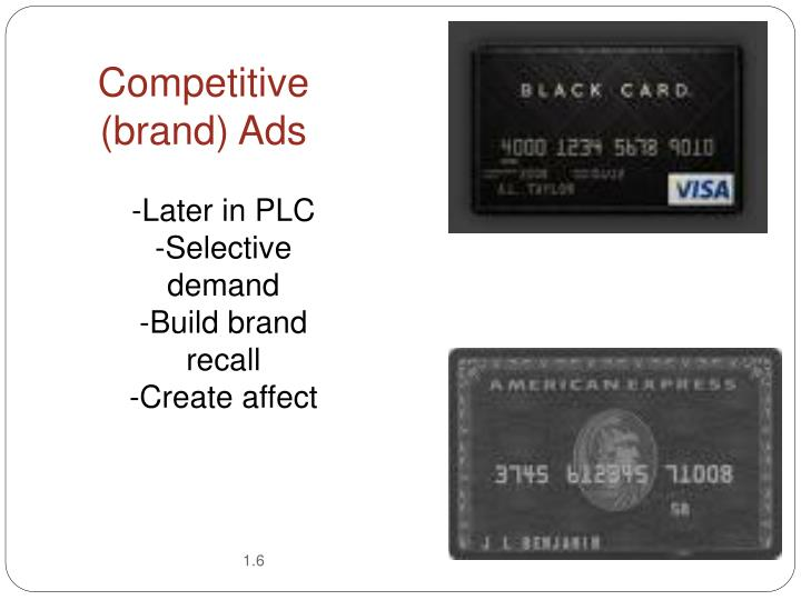 Competitive (brand) Ads