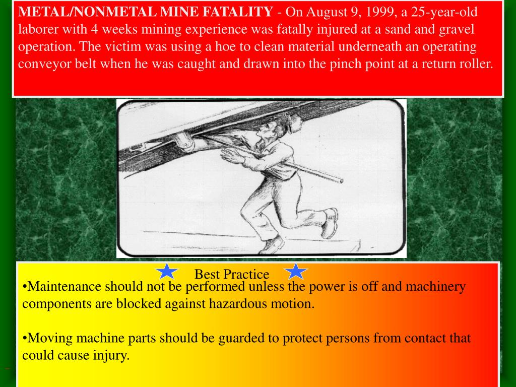 METAL/NONMETAL MINE FATALITY