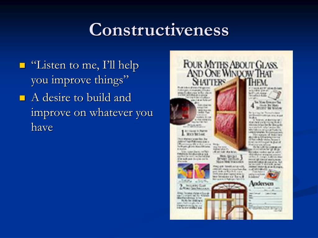 Constructiveness