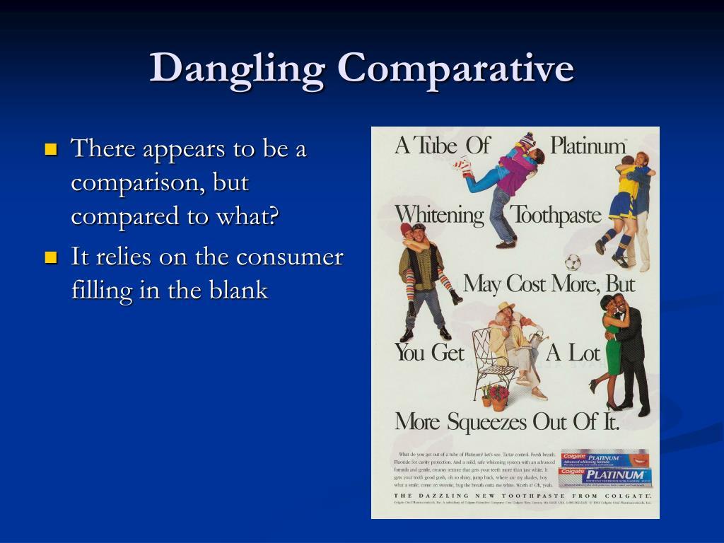 Dangling Comparative