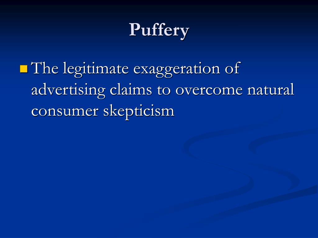 Puffery