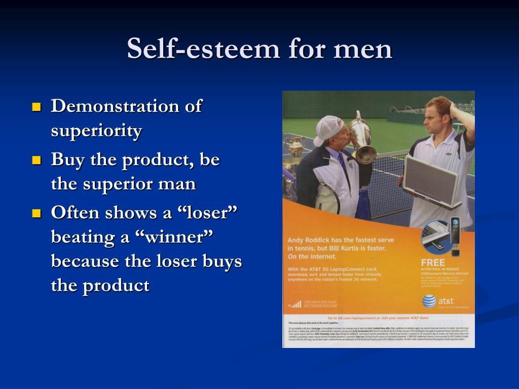 Self-esteem for men