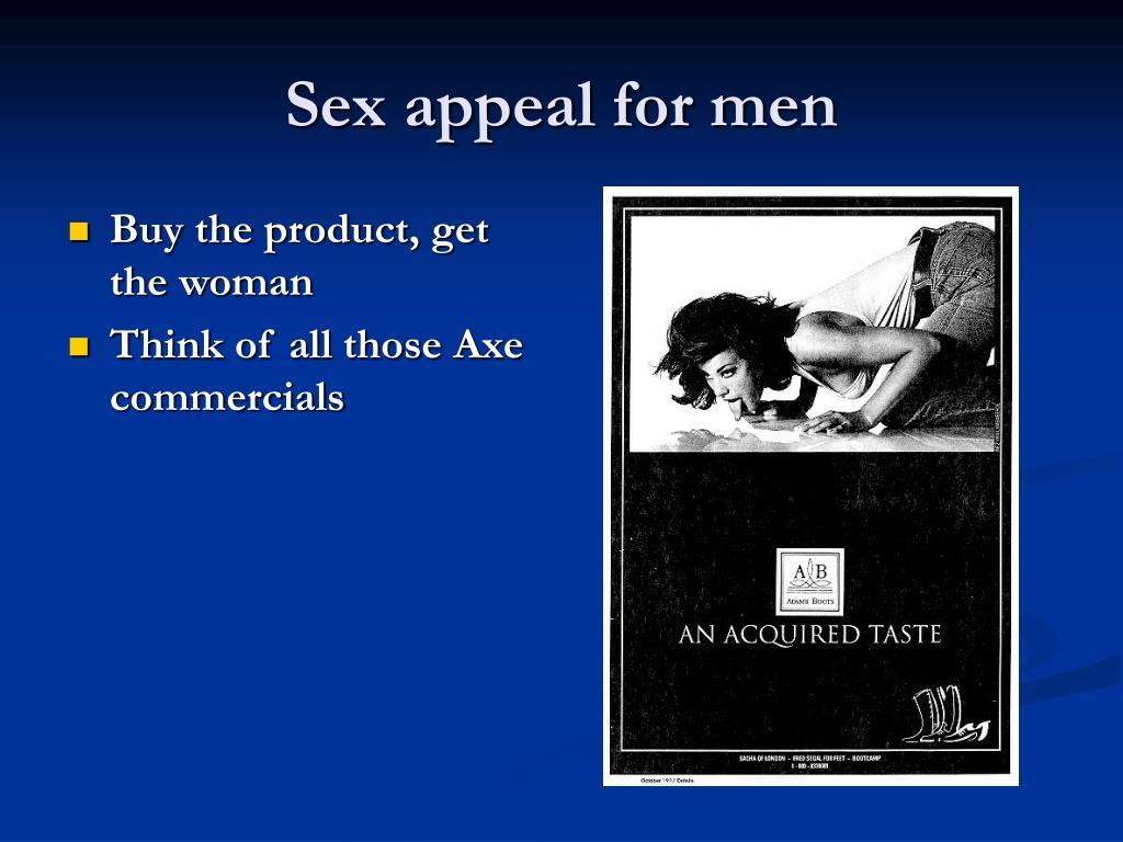 Sex appeal for men