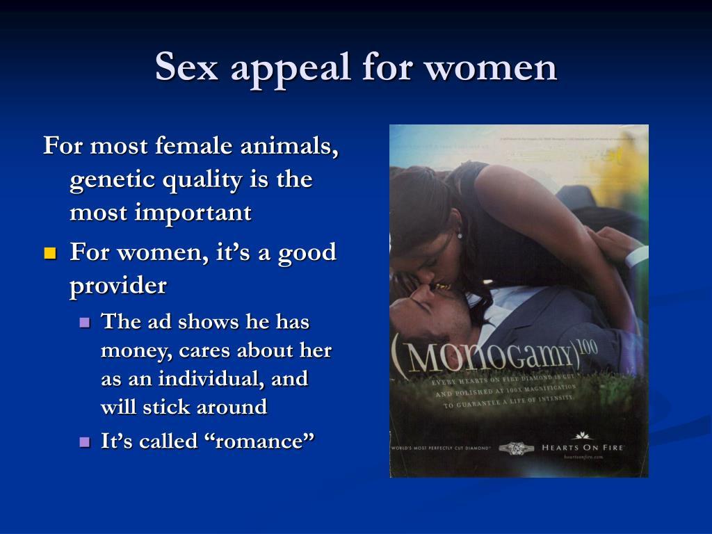 Sex appeal for women