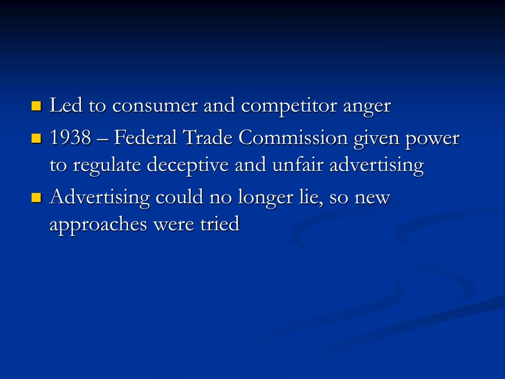 Led to consumer and competitor anger